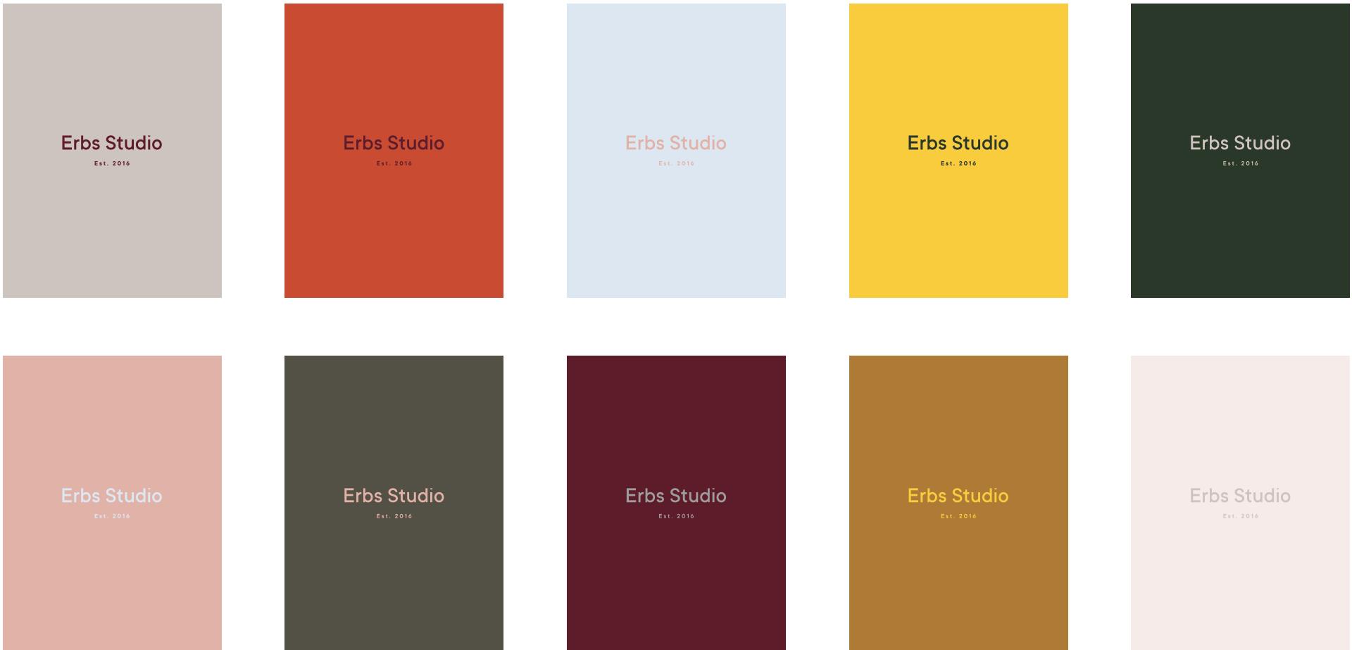 Erbs Colours