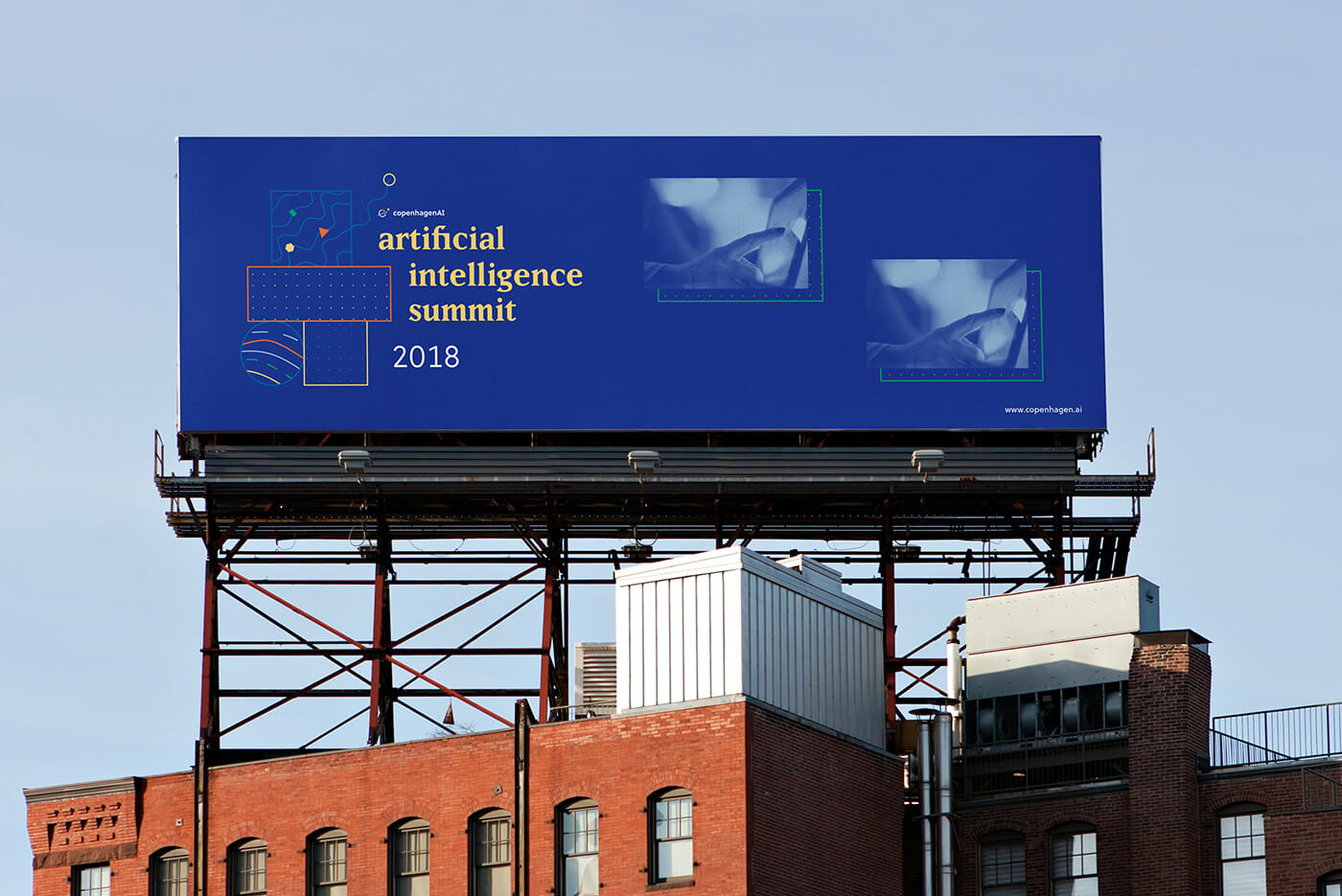 Mockup, Billboard, Small
