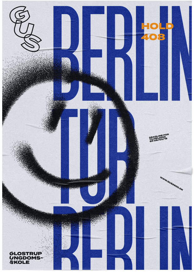 Mockup, Plakat, Berlin Tur