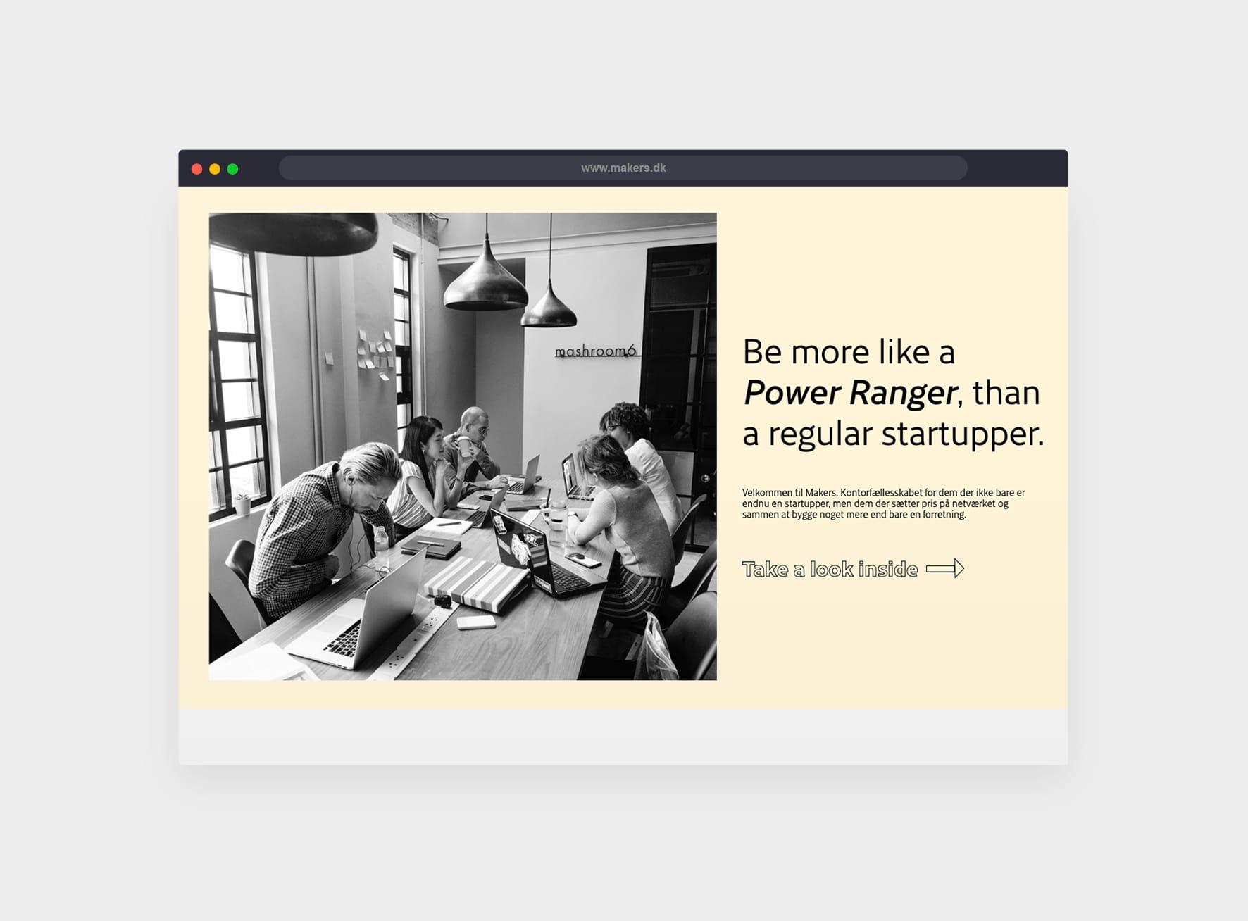 Makers-hjemmeside